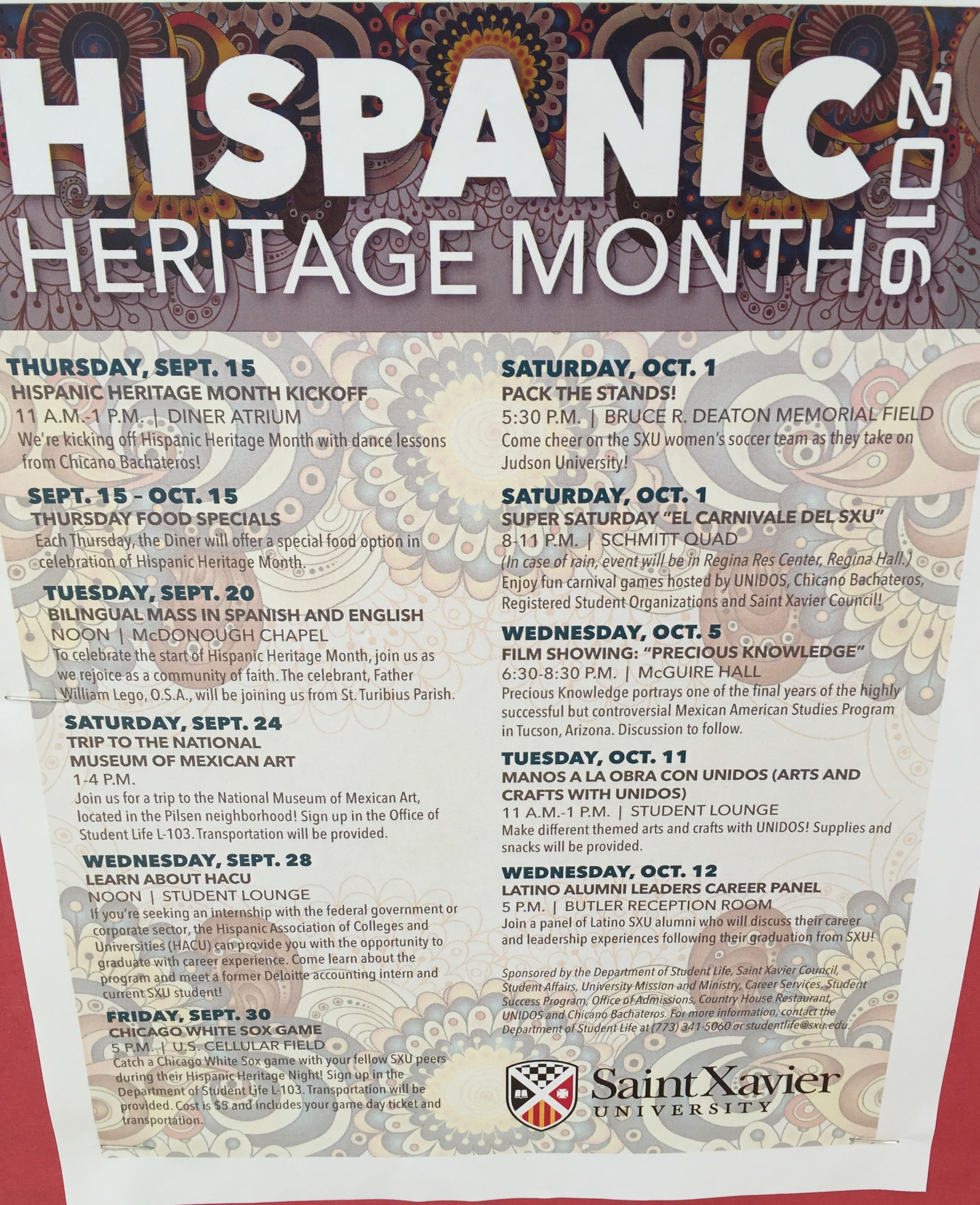 an analysis of the topic of the hispanic heritage month and the issues of the european people on the Hispanic heritage month celebration--el a panel discussion on the topic of tax conversation with other freedom loving people at the liberty.